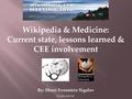 Wikipedia & Medicine - CEE 2016.pdf