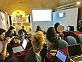 Wikipedia edit-a-thon with Wikimedia Community Malta and Spazju Kreattiv.jpg