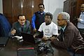 Wikivoyage Demonstration - Wikipedia 15 Celebration - St Johns Church - Kolkata 2016-01-15 8694.JPG