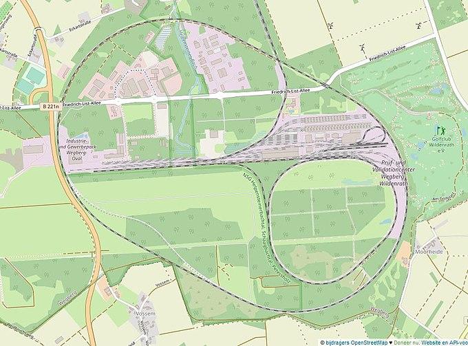 Wildenrath test track