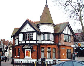 Willesden - Image: Willesden Old Library