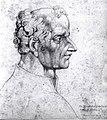 William Blake, Visionary Head of The Great Earl of Warwick Richard Neville.jpg