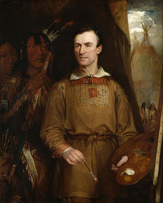 George Catlin - George Catlin by William Fisk, 1849