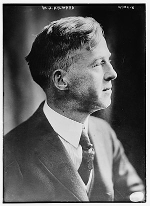 William James Aylward - Aylward in 1918