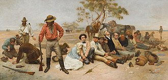 Bushranger - Image: William Strutt Bushrangers