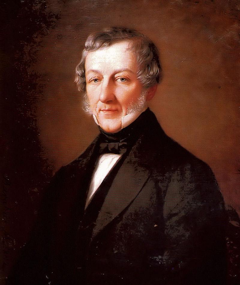 Portréja Barabás Miklóstól