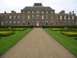 Wimpole Hall was designed by Soane