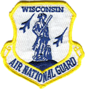 Volk Field Air National Guard Base - Image: Wisconsin Air National Guard Emblem