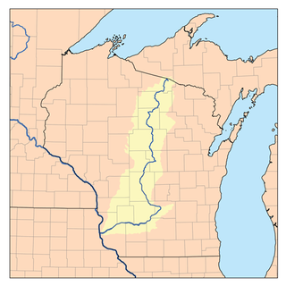 river in Wisconsin, United States