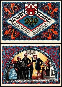 Wittenburg 1922 299 Pfennig.jpg