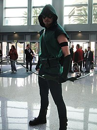 Green Arrow au Comic-Con 2012.