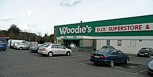 Woodie's DIY - A Woodie's DIY store in Glasnevin, Dublin which opened in April 1988