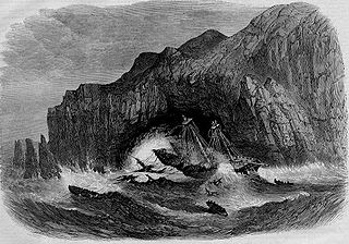 clipper shipwrecked in 1866
