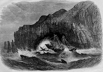 General Grant (ship) - Image: Wreck of the American Ship General Grant
