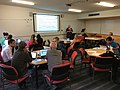 Writing for Wikipedia with the Visual Editor workshop at ANU (1).jpg