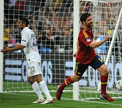 b8d4eadc1 Alonso celebrates scoring against France at UEFA Euro 2012.