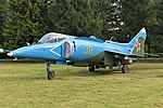 Yakolev Yak-38 '38 yellow' (37531983446).jpg