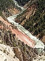 Yellowstone River (Grand Canyon of the Yellowstone, Wyoming, USA) 45 (46773546825).jpg