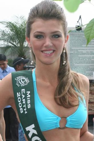 Miss Kosovo - Yllka Berisha, Miss Kosova 2007 / Miss Earth 2008 delegate.