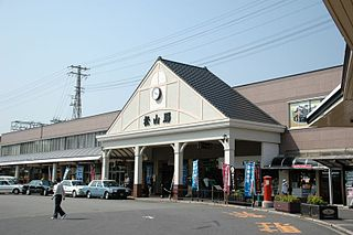 railway station and tram station in Matsuyama, Ehime prefecture, Japan