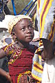 Young Girl Looks Up at Dad - Sogebaf Bus Station - Ouagadougou - Burkina Faso.jpg