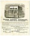 Young Ladies' Seminary, M Street, between Fifth and Sixth, Sacramento. (9826904835).jpg