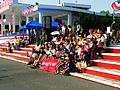 Yunlin County Taliro Community Boy Scouts Sit on Stairs for Photoing 20131012.jpg