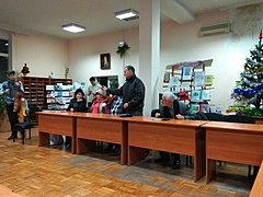 Yuras' Balanchuk and Andriy Shadiuk Literary Event 04.jpg