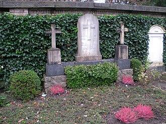 Johanna Spyri - Gravesite at Sihlfeld cemetery in Zurich
