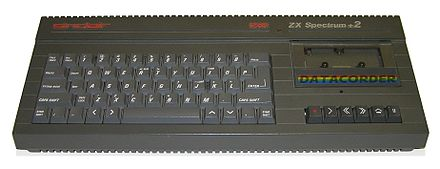 The ZX Spectrum +2. This was the first new Spectrum model released by Amstrad after their purchase of the range. ZX Spectrum Plus2.jpeg
