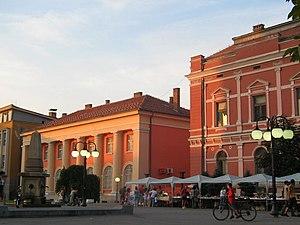 Zaječar - Image: Zajecar centar