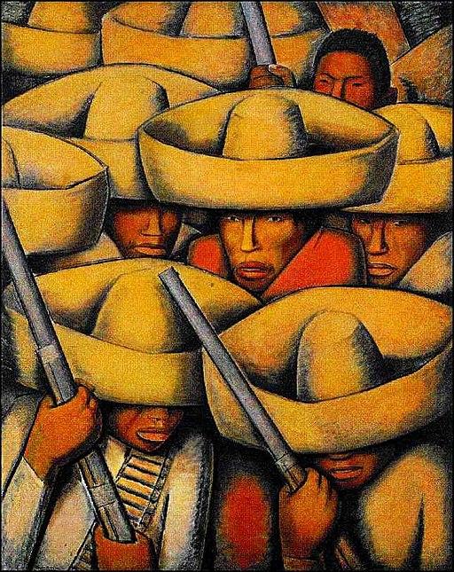 """""""Zapatistas"""" by Alfredo Ramos Martínez"""