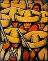 Zapatistas by Alfredo Ramos Martínez, c. 1932, oil.jpg