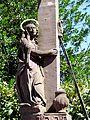 Zell a.H., Christus am Kreuz hinter der Wallfahrtskirche 2.jpg