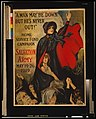 """A man may be down but he's never out!"" Home Service Fund Campaign - Salvation Army - May 19-26, 1919 - - Frederick Duncan. LCCN2002709069.jpg"