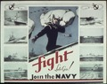 """Fight Lets Go - Join the Navy"" - NARA - 513512.tif"