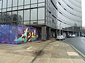 """""""Graffiti"""" on the old Zurich building (3) - geograph.org.uk - 2275900.jpg"""