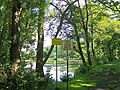 'No Cycling' and 'Cast With Care' at Loxley Fisheries - geograph.org.uk - 1014784.jpg