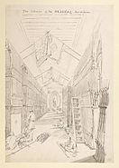 'The interior of the Arsenal, Fort William', Calcutta by William Prinsep 1835