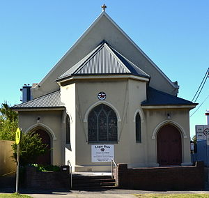 Bronte, New South Wales - Image: (1)Uniting Church Leichhardt Street