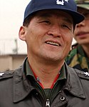 (Cropped without rank insignia) Air Force (ROKAF) Lieutenant General Lee Han-ho 공군중장 이한호 (DF-SD-05-00718 Osan Air Base, Republic of Korea).jpeg