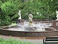 (PL) Polska - Fontanna w Ośrodku Przygotowań Olimpijskich w Cetniewie - Fountain at the Olympic Training Center in Cetniewo (25.VII.2013) - panoramio.jpg