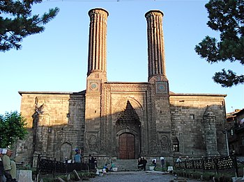 350px C387ifte Minareli Medrese