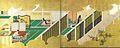 Épisode du Genji-monogatari (détails 1 et 2) par Gukei.jpg