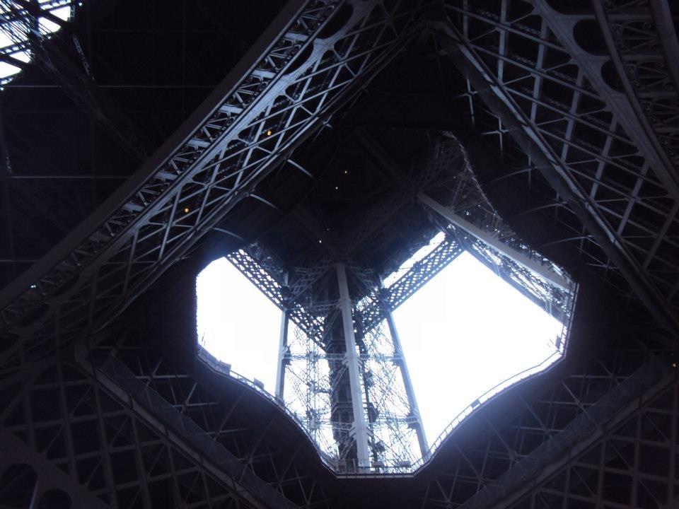 Útroby Eiffelovy věže