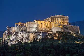 Outline of ancient Greece - The Acropolis of Athens