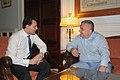 Συνάντηση ΑΝΥΠΕΞ κ. Δ. Δρούτσα με Αντιπρόεδρο της Αλβανικής Κυβέρνησης και ΥΠΕΞ κ. Ι. Μέτα (4859960082).jpg
