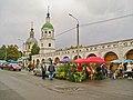 Гостиный двор (торговые ряды) (Москва и Московская область, Зарайск, Революции площадь) август 2012.jpg