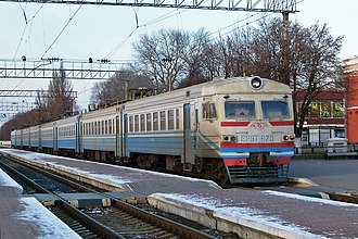 Chernihiv–Ovruch railway - Image: Залізнична станція Чернігів 001