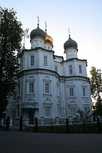 Uzkoye - Church of the Theotokos of Kazan (1698-1704).